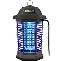 HEMIUA Pro Bug Zapper Mosquito Killer for Outdoor and Indoor - Waterproof Insect Fly Pest Attractant Trap, 4200V Powered…