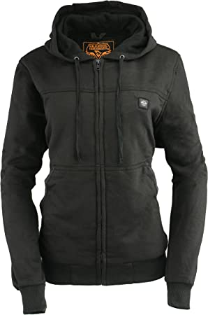 Milwaukee Performance-Mens Heated Hoodie w//Front/&Back Heating Elements-BATTERY PACK INCLUDED-BLACK-X-LARGE
