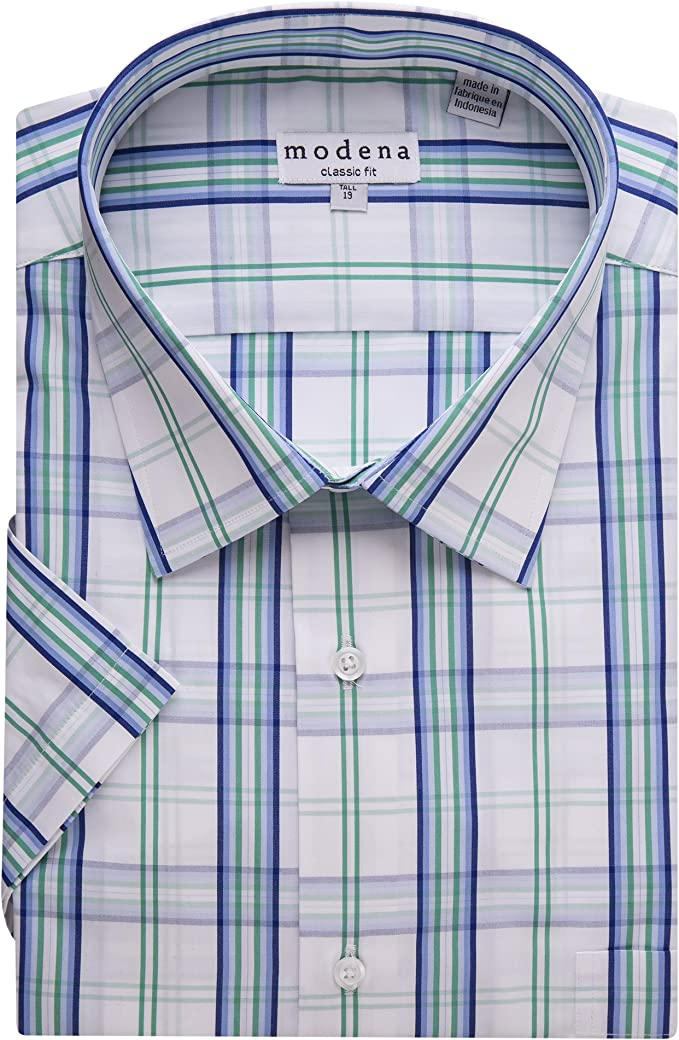 All Sizes Including Big /& Tall Modena Men/'s Long Sleeve Dress Shirt Colors
