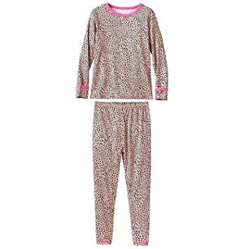 15f428ea5a3b Amazon.com  Cuddl Duds Big Girls Comfortech Poly Set (XS(4 5 ...