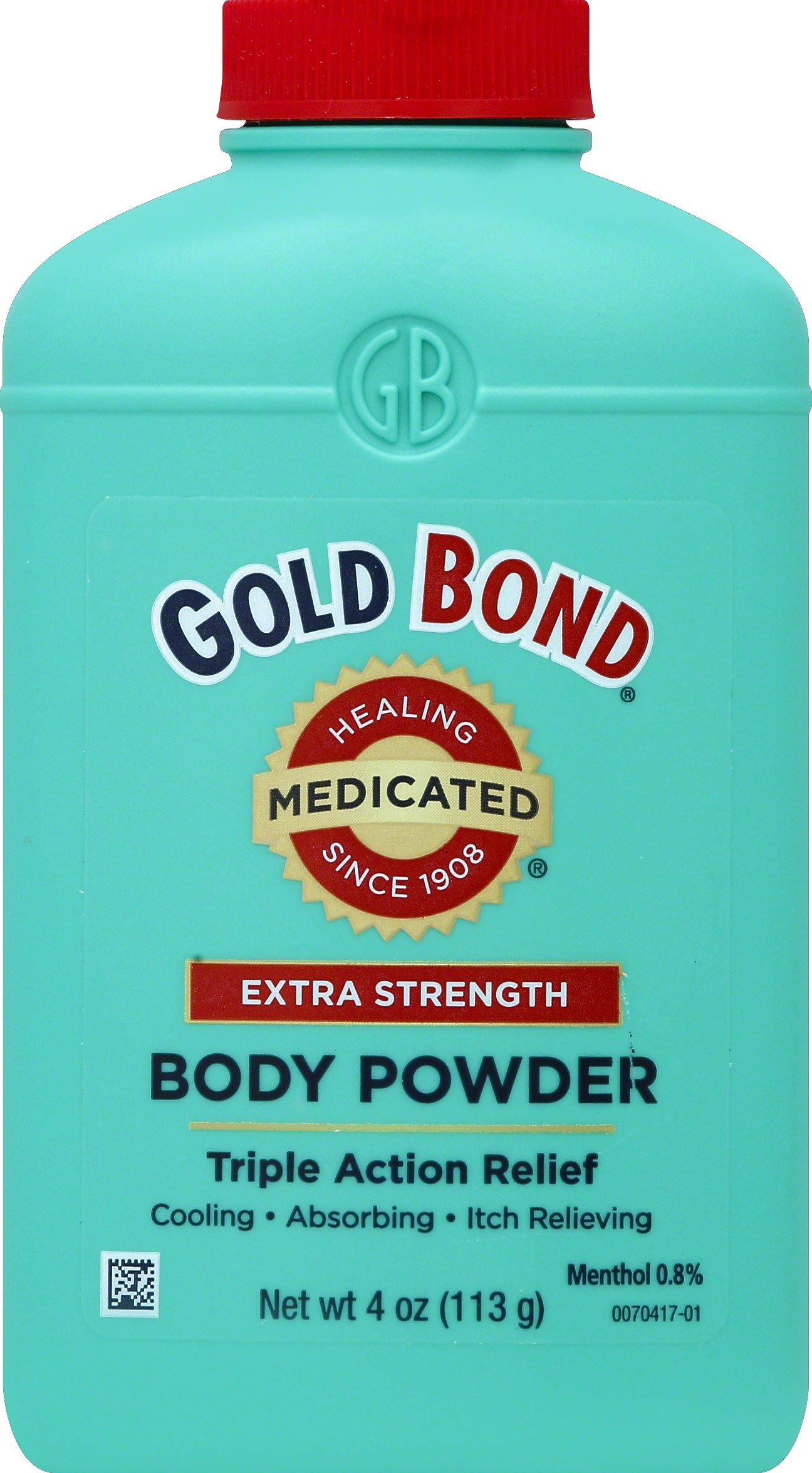 Gold Bond Medicated Body Powder, Extra Strength, 4 oz Shaker by Gold Bond