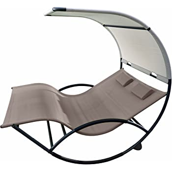 Amazon Com Vivere Chaiserk2 Sa Double Chaise Rocking