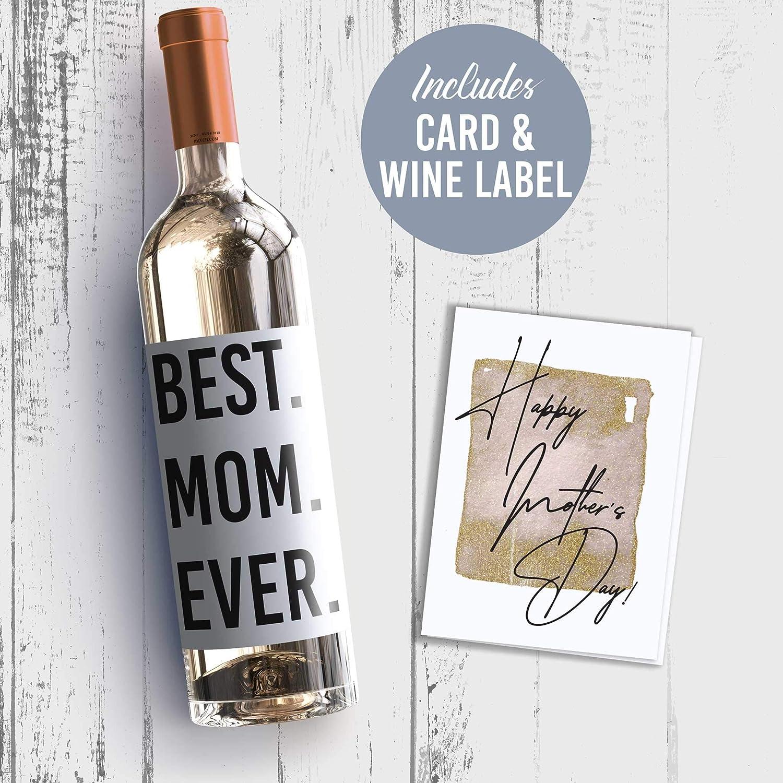 Dad i/'m your favourite child wine bottle Vinyl Decal sticker.