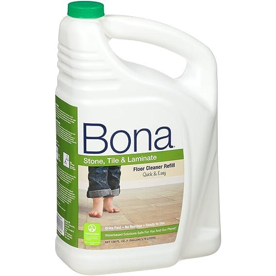 Amazon Bona Stone Tile Laminate Floor Cleaner Refill 128oz