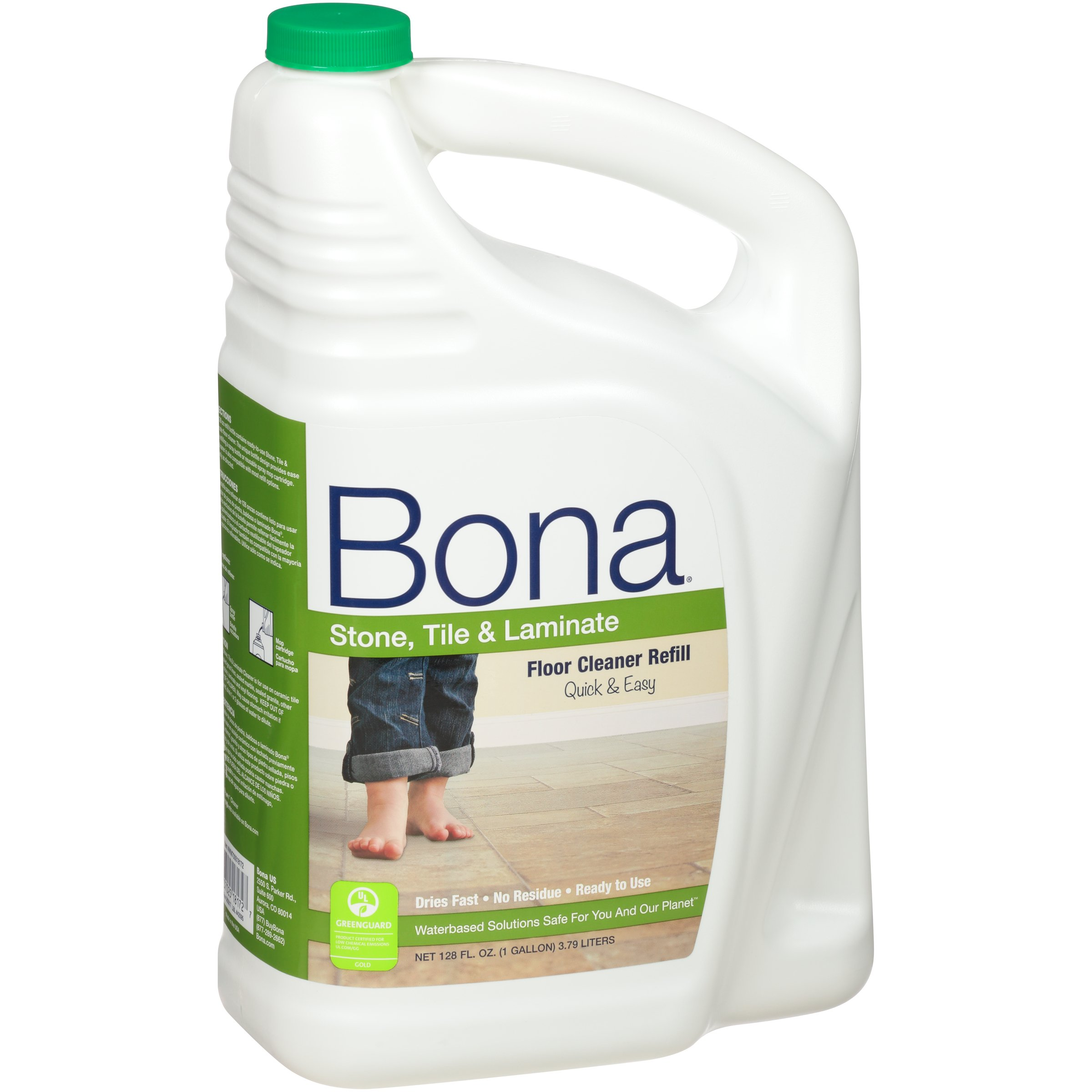 Bona® Stone, Tile & Laminate Floor Cleaner Refill 128oz (Pack May Vary)