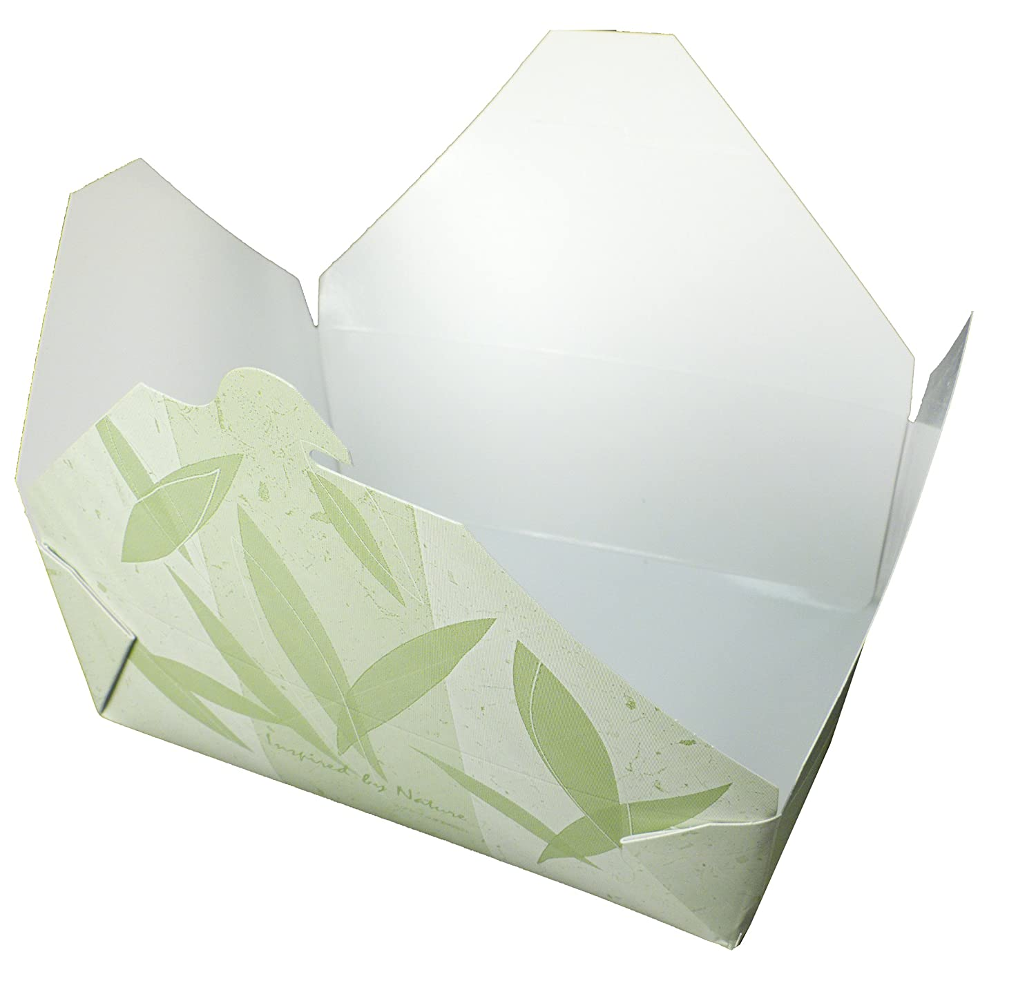 Fold-Pak Bio-Plus Earth 04BPSONOMM Sonoma Print Paper Carry-Out//To-Go Container Case of 160 96-Fluid Ounce Capacity 7-3//4 Length x 5-1//2 Width x 3-1//2 Height