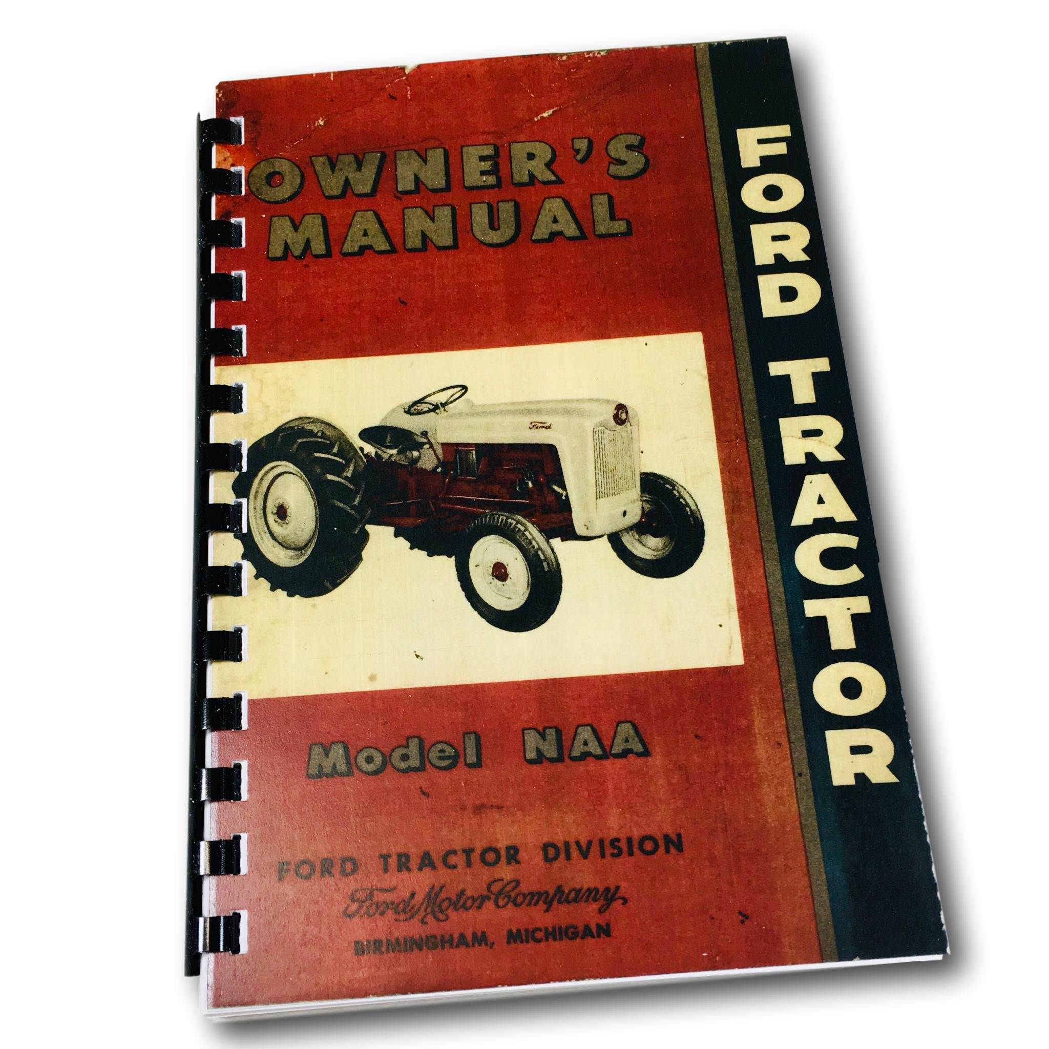 1953 1954 1955 Ford Tractor Naa Golden Jubilee Owners Instruction Operating Manual Users Guide 53 54 55 Ford Amazon Com Books