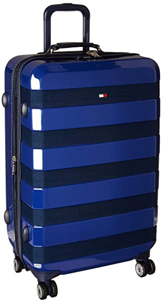 045a1b467 Amazon.com | Tommy Hilfiger Rugby Stripe 25 Inch Hardside Luggage ...