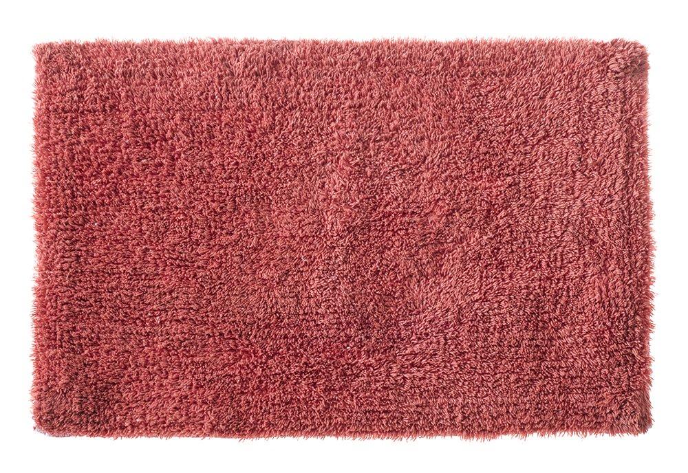 Tapete de Banheiro Victoria Retangular Corttex Coral 60.00cmx40.00cm Tecido