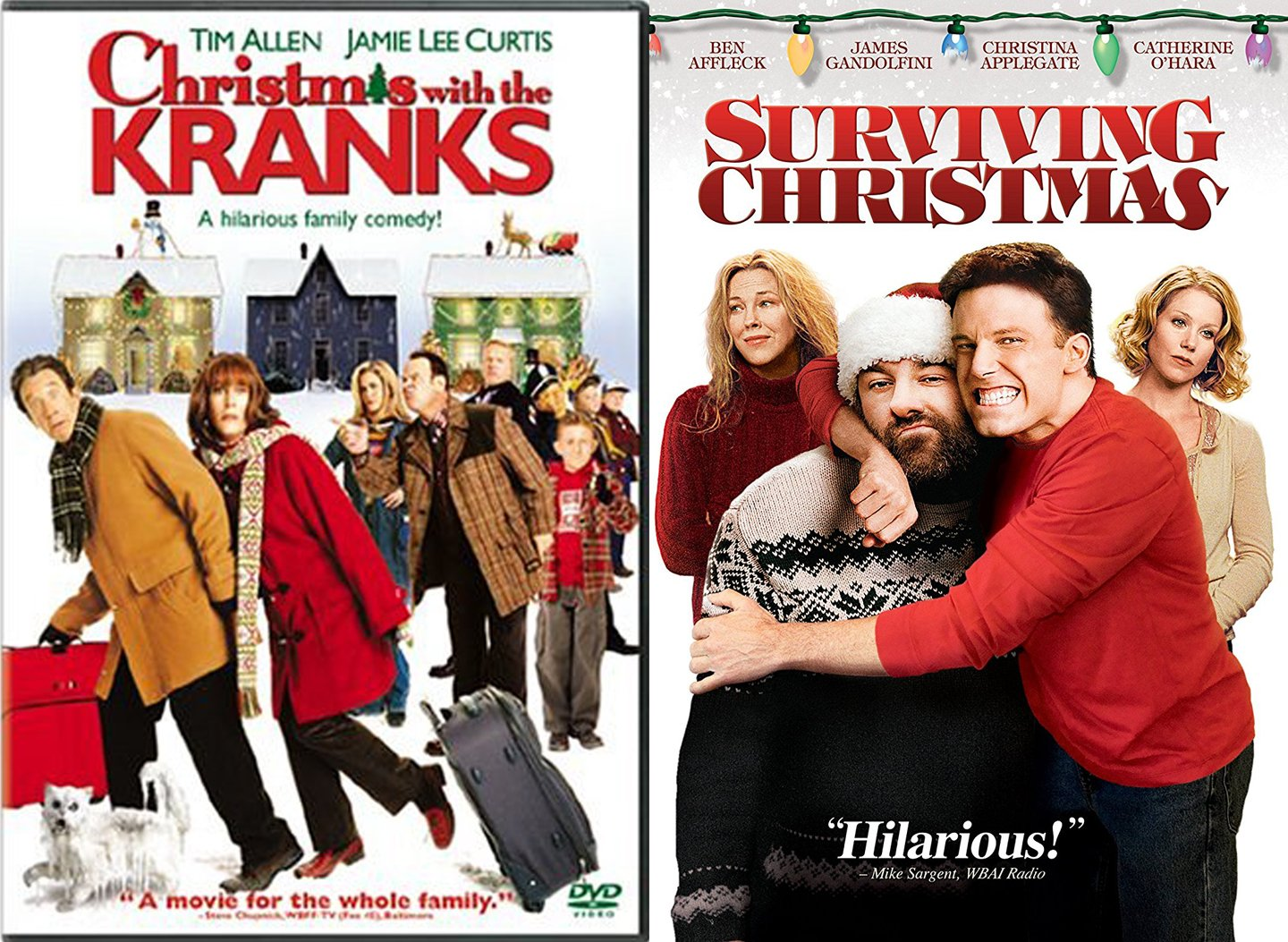 Amazon.com: Surviving Christmas & Christmas with the Kranks Holiday ...