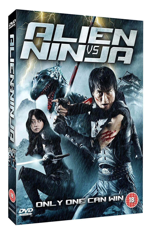 Alien Vs Ninja DVD LIMITED EDITION LENTICULAR SLEEVE by Mika ...