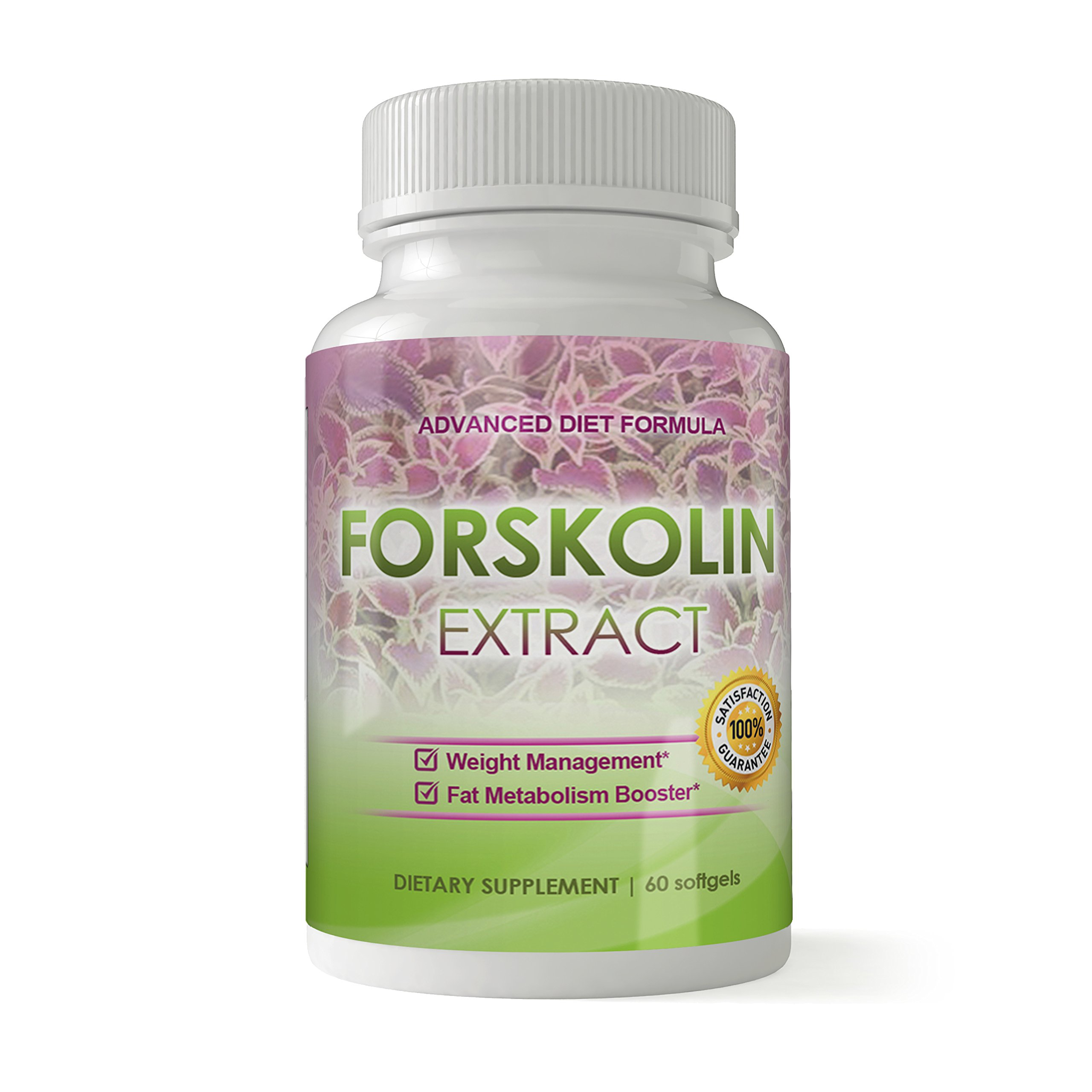 100% Pure Forskolin Extract I 250mg Premium Grade Coleus Forskohlii 60 Capsules I Appetite Suppressant, MAX Strength Belly Fat Burner, Carb Blocker, Weight Loss Supplement I Includes Bonus Diet eBook by Totally Natural Remedies