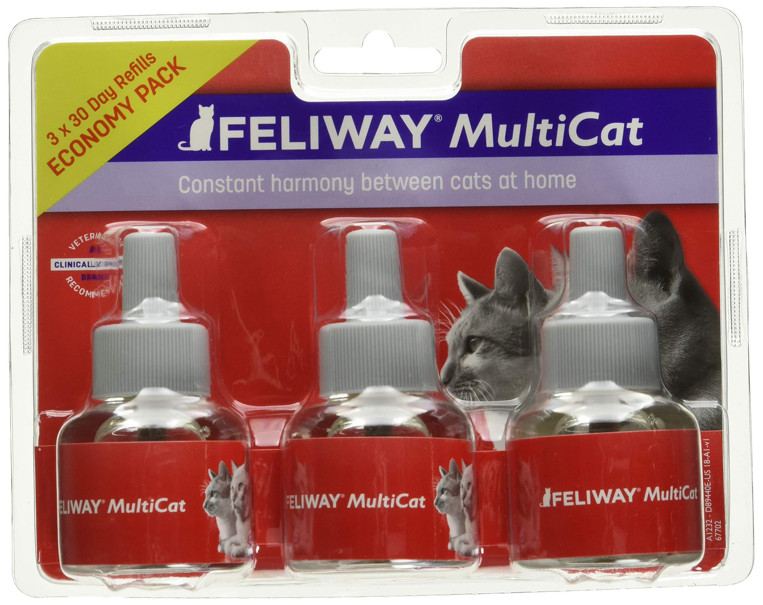Feliway Animal Health Multicat Feliway Refill (3 Pack) by Feliway