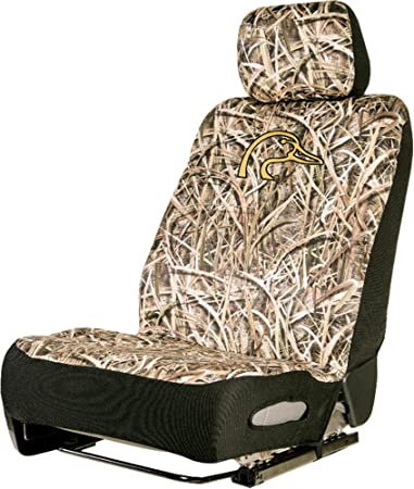 Neoprene Universal Low Back Camo Seat Cover Duck Unlimited