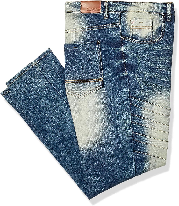 Southpole Men's Big & Tall 9180 Signiture Skinny Fit Fashion Denim Pants