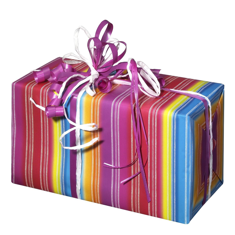Susy Card 11136116 Geschenkpapier Rolle Zwei Papier 10 m Motiv Happy