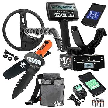Whites MXT todos Pro Detector de metales de excavadoras especial w/digmaster y bolsa de utilidad: Amazon.es: Jardín