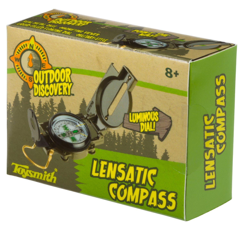 Toysmith Linsenkompass Kompass Science Kit