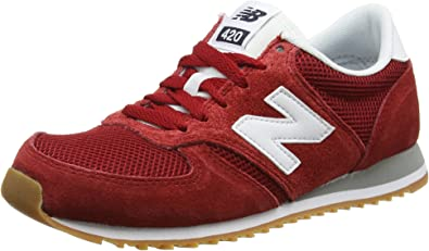 New Balance 420 70s Running Suede, Zapatillas Unisex Adulto, Rojo (Red), 41.5 EU: Amazon.es: Zapatos y complementos