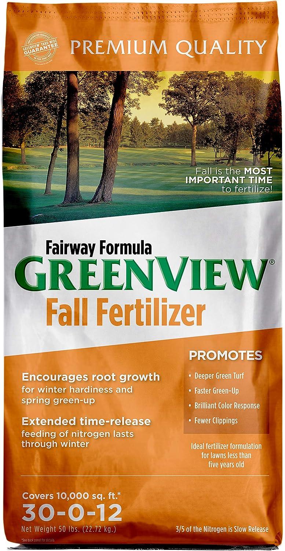 GreenView Fairway Formula Fall Lawn Fertilizer - 50 lb. - 10,000 sq. ft.