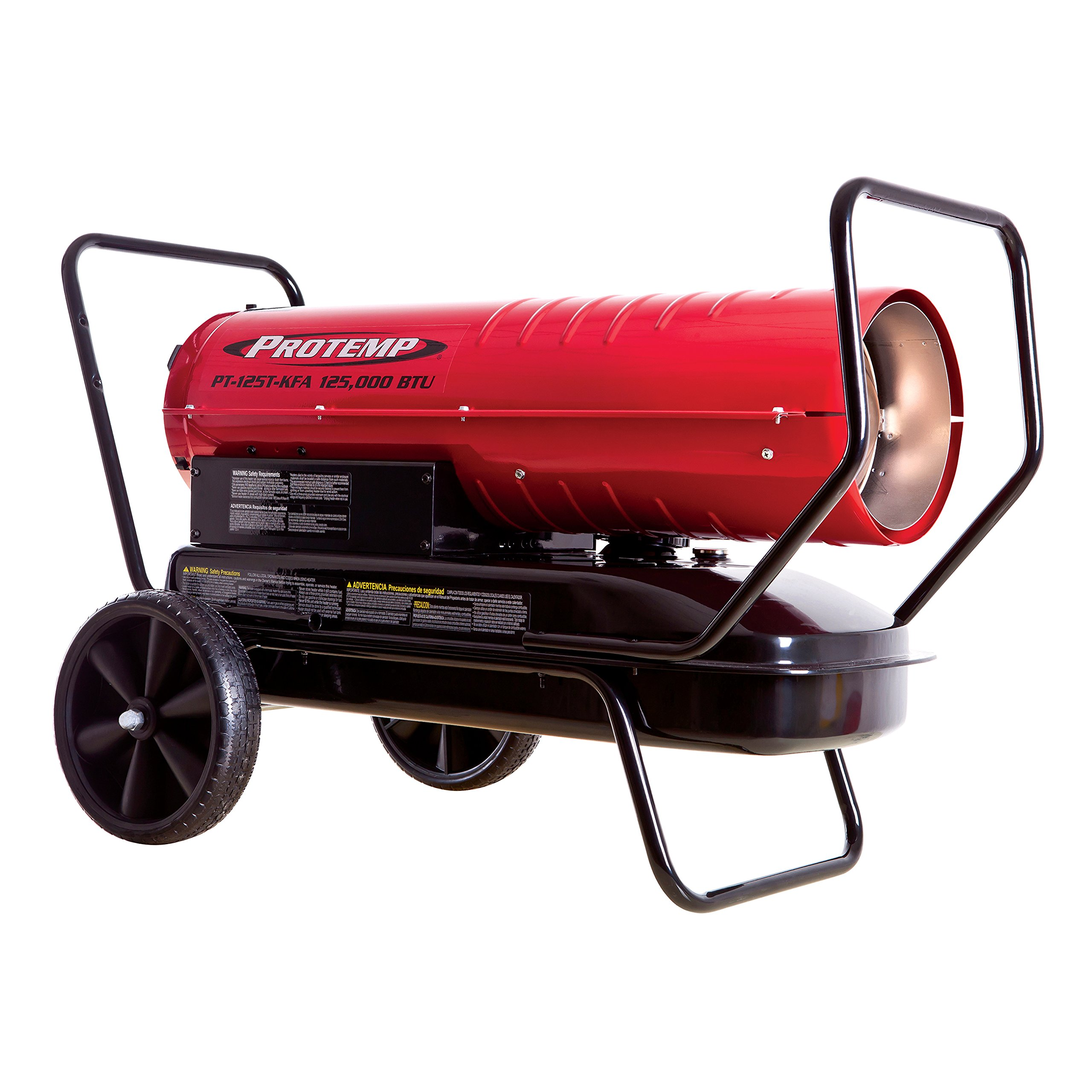 125,000 BTU Kerosene Forced Air Heater with Thermostat