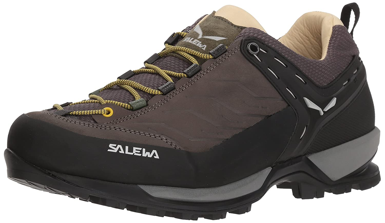 Salewa Ms Mtn Trainer L, Zapatillas de Senderismo para Hombre 40 EU|Marrón (Walnut/Golden Palm 7509)