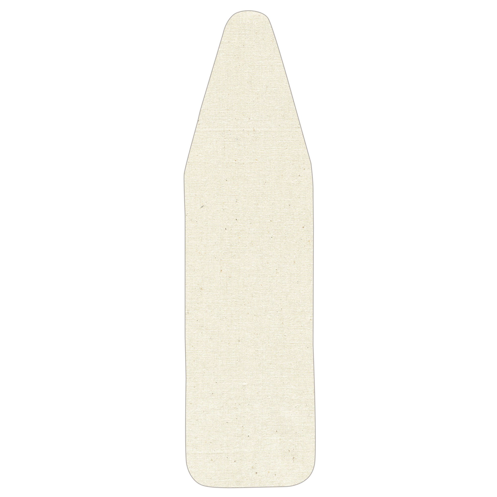 Household Essentials 7347 Replacement Pad Cover Wide-Top Ironing Board | Natural Cotton Canvas by Household Essentials