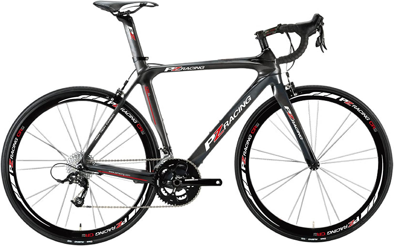 PZ Racing - Bicicleta de Carretera (55 cm, piñón Shimano 105, 11 velocidades): Amazon.es: Deportes y aire libre