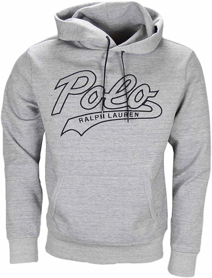 Ralph Lauren Polo Performance Hooded Sweatshirt in Grey Marl XL ...