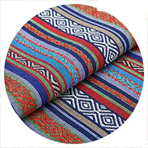 New 100X150CM Polyester/Cotton Fabric Ethnic Decorative Fabrics for Sofa Cover Cushion Cloths Curtains 22 Styles,58
