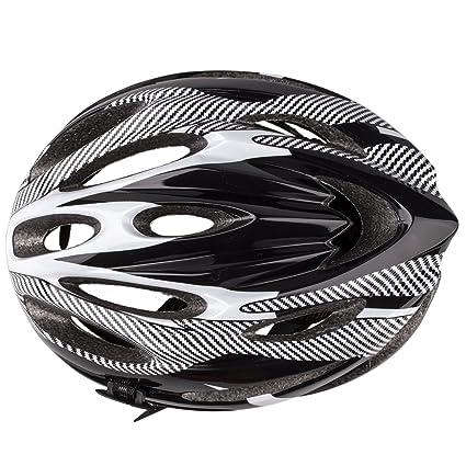 SODIAL(R)21 Ventila Ultraligeros Deportes Ciclismo Casco con Guarnicion Cojin Montana Bici Bicicleta