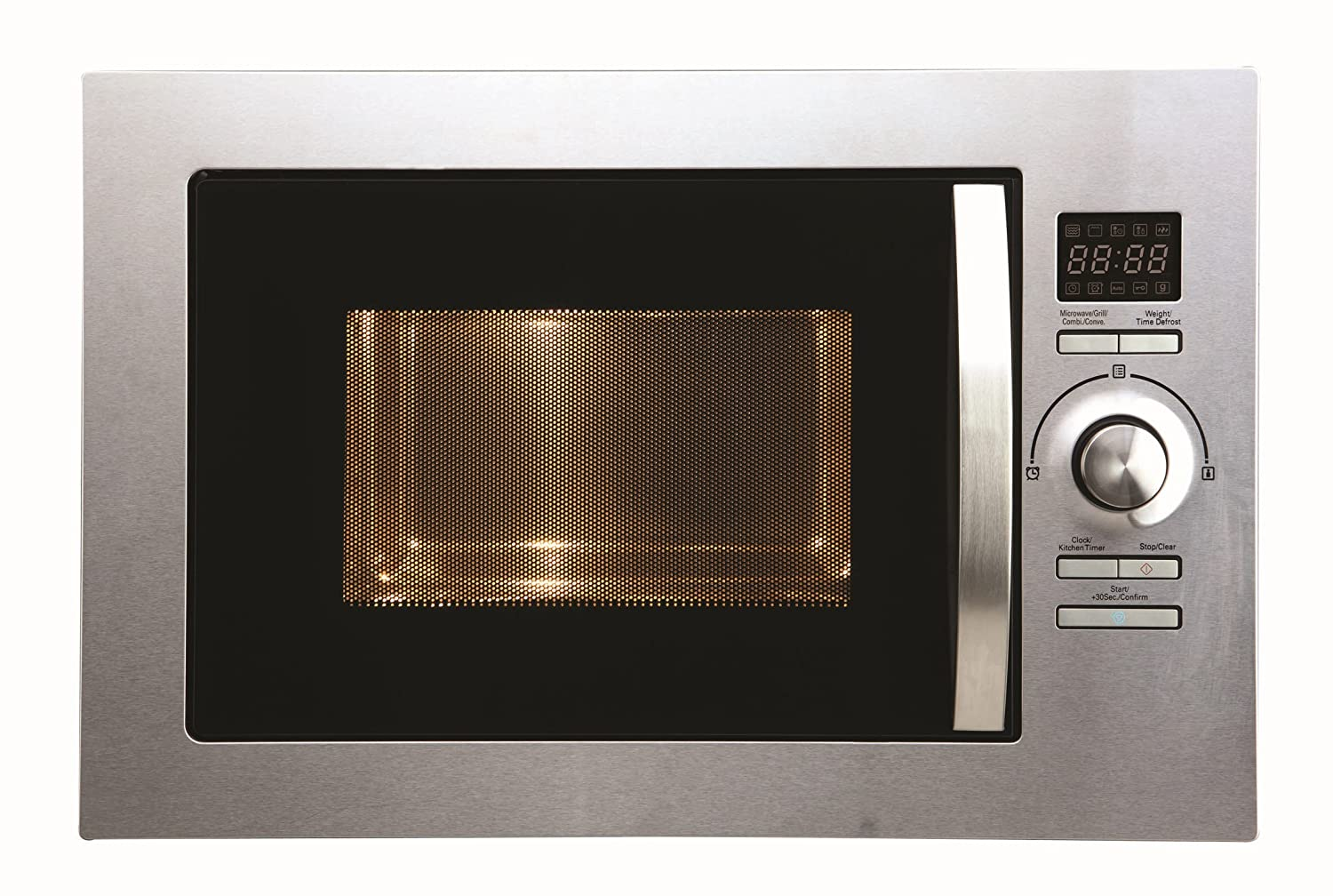 Cookology Built-in Combi Microwave Oven & Grill | BMOG25LIXH Stainless Steel 25 Litre