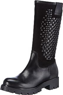 Lizzola, Rangers Boots Femme, Noir (Nero C99), 38 EUTosca Blu