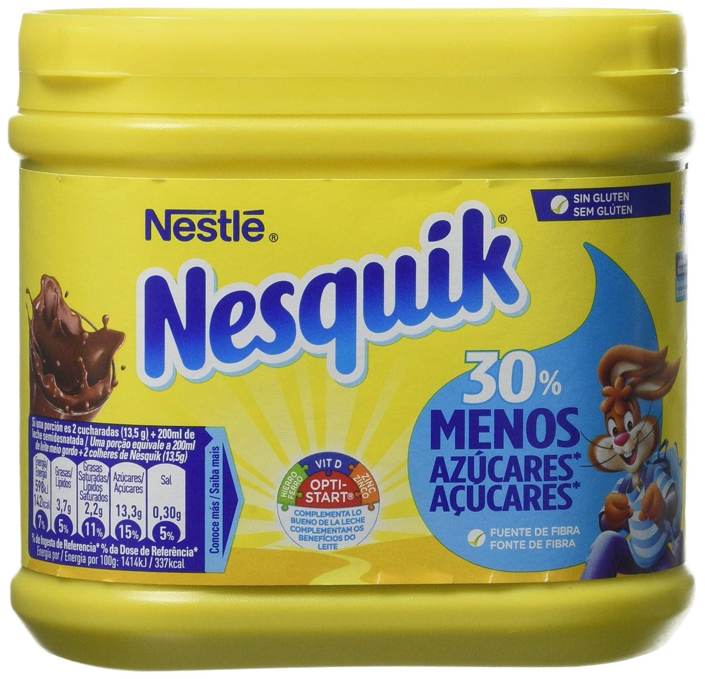 Nesquik, Cacao soluble - 6 de 350 gr. (Total 2100 gr.): Amazon.es: Alimentación y bebidas