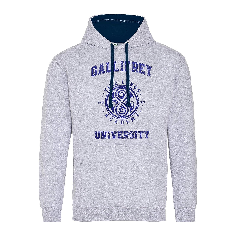 Gallifrey University Funny The Doctor Who Premium Sudadera con Capucha Unisex