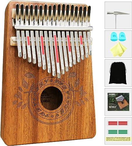 UNOKKI Kalimba 17 Keys Thumb Piano