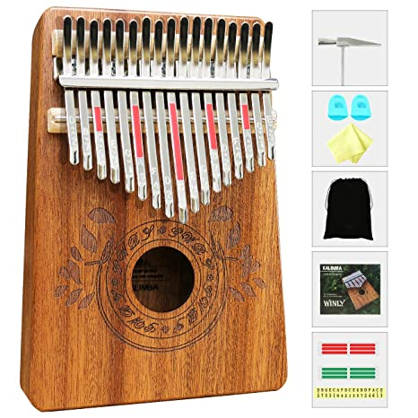 100% Quality 17 Key Single Board Kalimba Mahogany Thumb Piano Mbira Mini Keyboard Instrument With Complete Accessories Available In Various Designs And Specifications For Your Selection Home