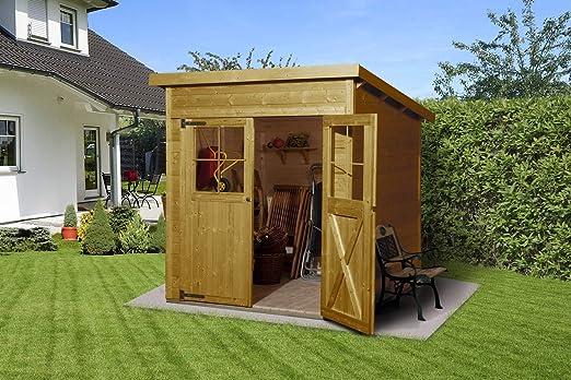 Weka Jardín Casa Nova tamaño 2 roble claro barnizado: Amazon.es: Jardín