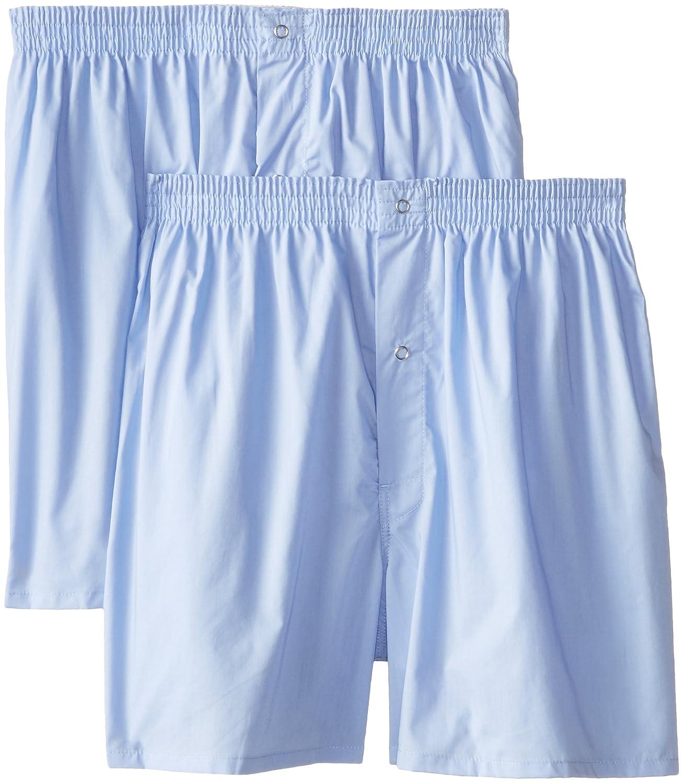 Munsingwear Men's 2-Pack Gripper Woven Boxer 29850091BC