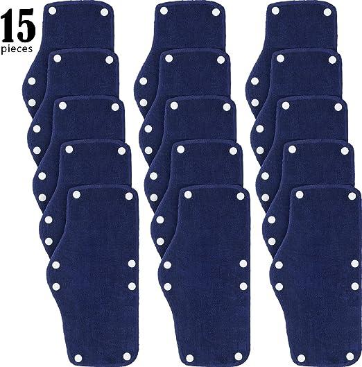 Bleu Hard Hat Sweatband Bandeau Absorbant en Coton Hardhat Sweatband Doublure Lavable Snap Bande de Sueur Absorbante pour Utilisation de Casque 5