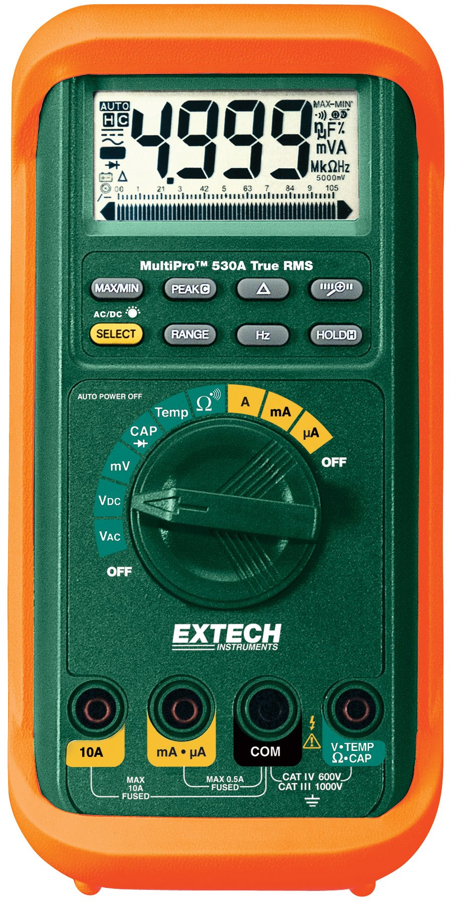 Extech MP530A True RMS MultiPro High-Performance MultiMeter