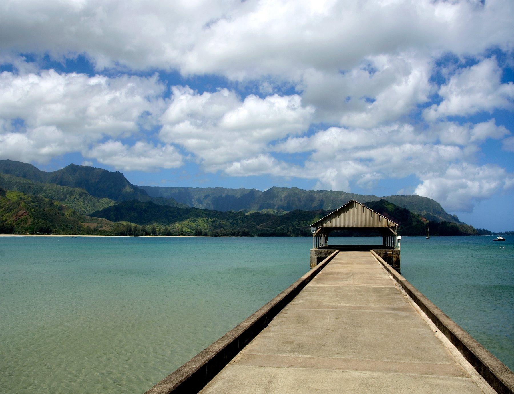 Hanalei Pier Hand Numbered Edition Kauai Hawaii