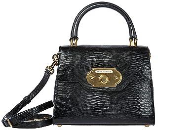 Cuir Main Noir Dolceamp; À Femme En Gabbana Sac Welcome 8wOPNnyvm0