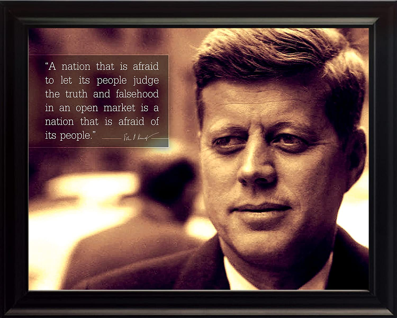 Kennedy President John F JFK 8x10 Framed Photo