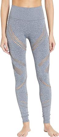 6ea30749c89834 ALO Womens High-Waist Seamless Radiance Leggings at Amazon Women's ...