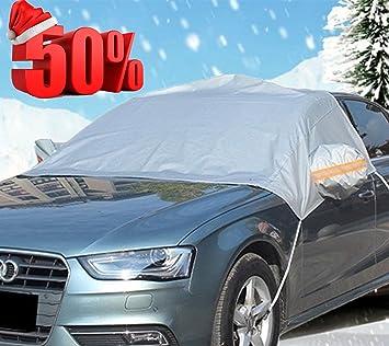 kafeek coche parabrisas limpiaparabrisas de Remoción de nieve hielo visera pantalla y parasol – plateado reflectante