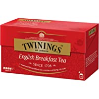 Twinings - Té English Breakfast, 25 bolsitos