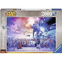 Ravensburger, Rompecabezas Star Wars Collage, 2000 Piezas