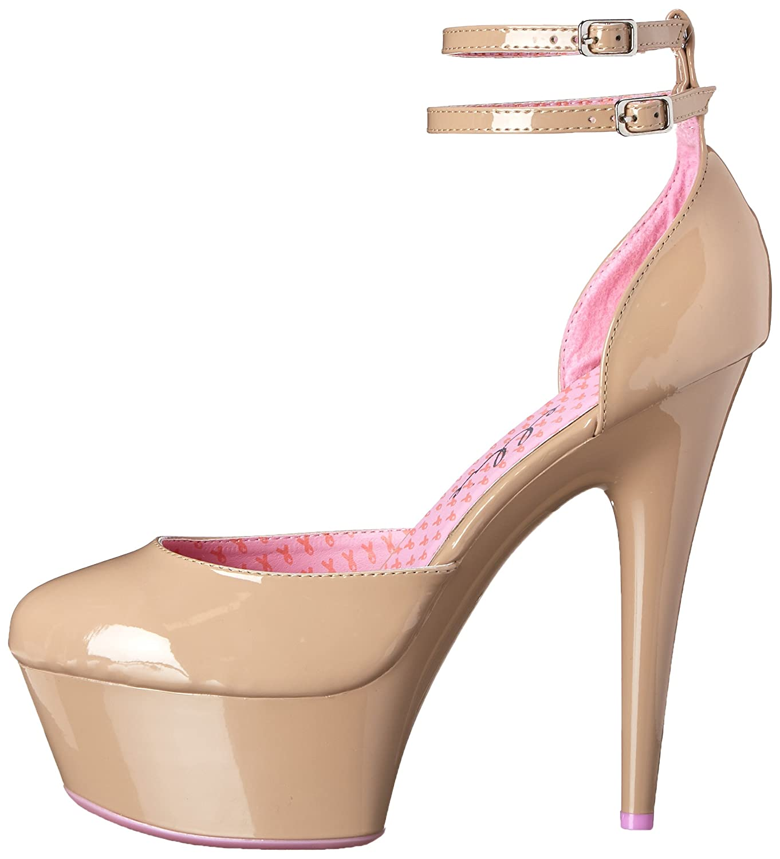 Ellie Shoes Women's 609-Curissa D'Orsay US|Beige Pump B005XFPN6I 9 B(M) US|Beige D'Orsay 7c4b68
