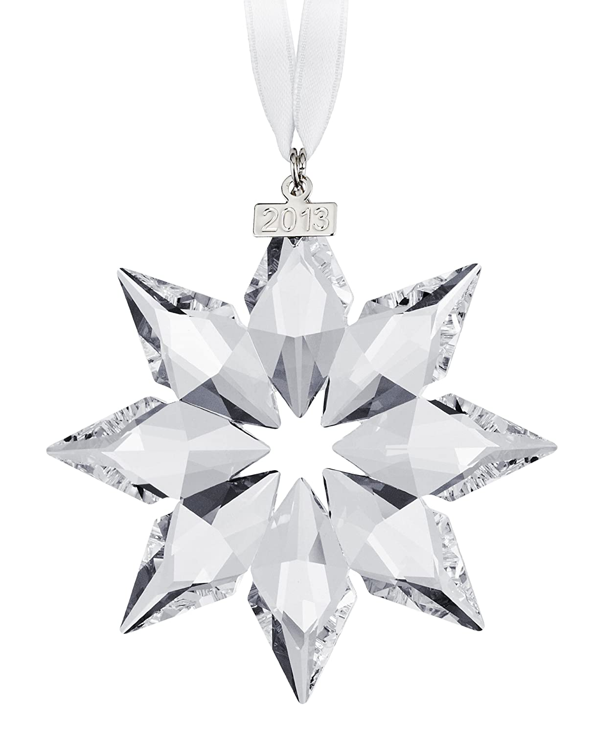 Swarovski 2013 Christmas Ornament Star Crystal 5004489: Amazon.co ...